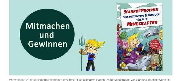 Fischer Verlag Buch Gewinnspiel Minecraft Handbuch