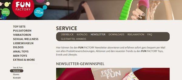 Fun Factory Gewinnspiel Erotik Toys gewinnen