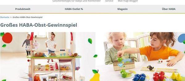 HABA Gewinnspiel Kinder Kaufladen und Spiele