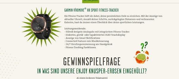 Kühne Gewinnspiel Garmin Fitness-Tracker