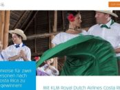 KLM Costa Rica Reise Gewinnspiel