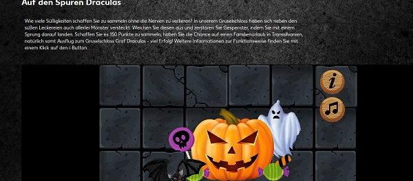 Kaufland Halloween Gewinnspiel Familienurlaub in Transsilvanien