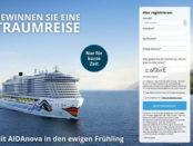 Kreuzfahrt Gewinnspiel AIDA Cruises AIDANova Seereise