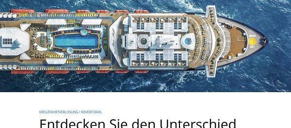 Kreuzfahrt Reise Gewinnspiel Crucero Magazin Mein Schiff 2