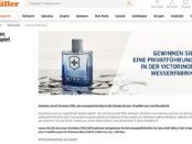 Müller Drogerie Gewinnspiele Schweiz Reise mit Fabrikbesichtigung