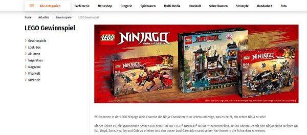 Lego Gewinnspiel Müller