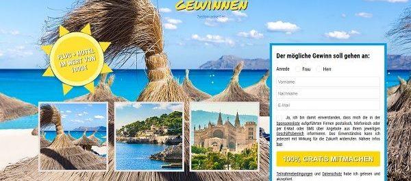 Mallorca Reise Gewinnspiel Traumurlaub 2019