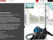 Media Markt Gewinnspiel 3 Bosch GS05 Cleann'n Bodenstaubsauger