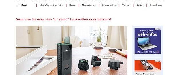 www mein eigenheim de gewinnspiel