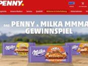 Penny und Milka Gewinnspiel 10 Samsung Flat Screen TVs