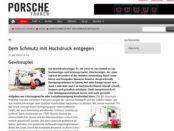 Porsche Fahrer Gewinnspiel Einhell Hochdruckreiniger