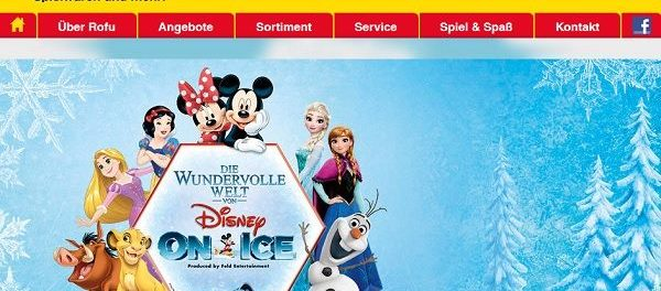 Rofu Gewinnspiel Disney on Ice Musical Reise