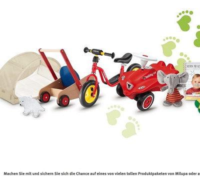 Rossmann und Milupa Gewinnspiel Spielzeug