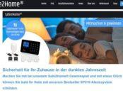 Safe2Home Gewinnspiel Heim-Alarmsystem gewinnen