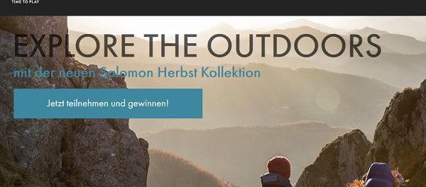 Salomon Gewinnspiel 2 Outdoor Outfits