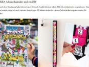 Sammy Demmy Ikea Adventskalender Gewinnspiel