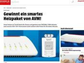 Smart Wohnen Gewinnspiel Fritz Box 7590 smarte Heizungsthermostate