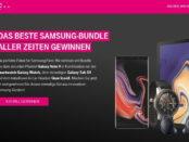 Telekom Gewinnspiel großes Samsung Paket Note 9 uvm.