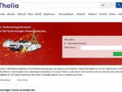 Thalia Weihnachts-Gewinnspiel 2018 Auto gewinnen