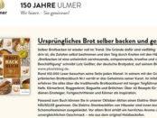 Ulmer Verlag Gewinnspiel elektrischen Steinbackofen gewinnen