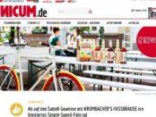 Unicum Gewinnspiel Krombacher Single Speed Bike