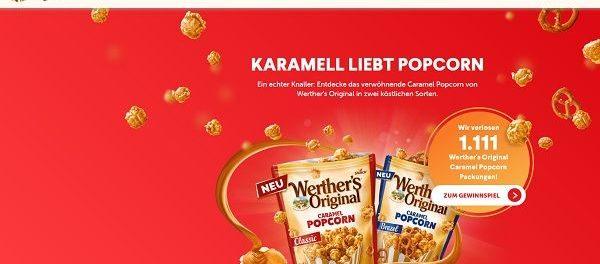 Werthers Original Gewinnspiel 1.111 Produktpakete gewinnen
