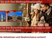 Wunschreise und Shoppinggeld Gewinnspiel Wert 10.000 Euro