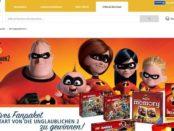 real Gewinnspiel Fanpaket Die Unglaublichen 2 Spiel und Lego