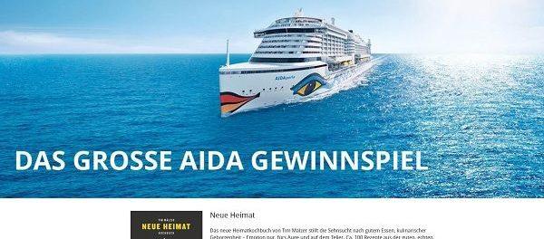 AIDA Kreuzfahrt Reise Gewinnspiel Random House Verlagsgruppe