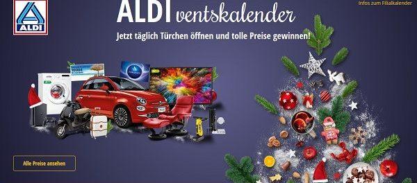 Aldi Adventskalender Gewinnspiel 2018 Auto gewinnen