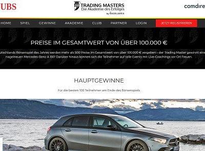 Auto-Gewinnspiel Mercedes A-Klasse Tradingmaster Börsenspiel