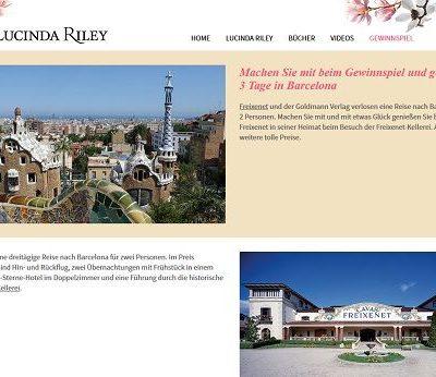Barcelona Reise Gewinnspiel Lucinda Riley