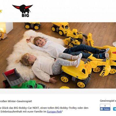 Big Spielzeuge Gewinnspiel Europa Park Familienaufenthalt