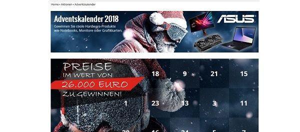 Computerbild Adventskalender Gewinnspiel 2018 Asus Notebook