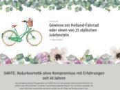 DM Sante Gewinnspiel Holland Fahrrad gewinnen