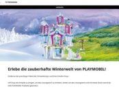 Disney Gewinnspiel Playmobil Magic Eispalast