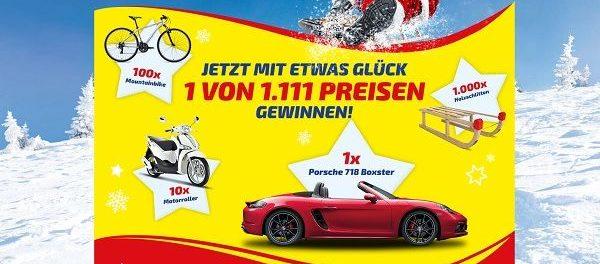Ferrero Auto Gewinnspiel Porsche 718 Boxster Gewinnen
