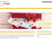 Geld-Gewinnspiel ETF Comstage Commerzbank