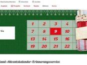 Kaufland Adventskalender Gewinnspiel 2018 Auto gewinnen
