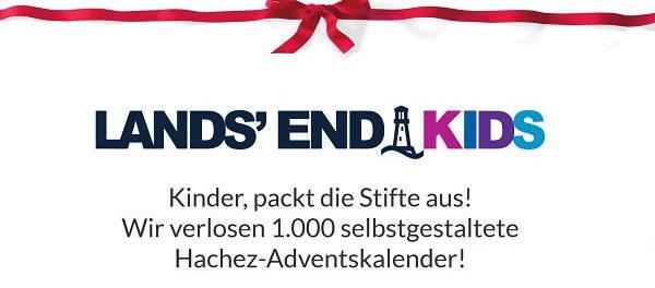 Lands End Kids Adventskalender Gewinnspiel 1.000 Gewinner