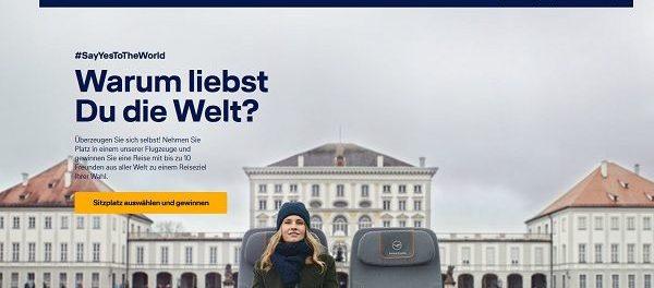 Lufthansa Reise Gewinnspiel Flüge für 11 Personen Wunschziel