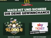 McDonalds Monopoly Gewinnspiel 2018