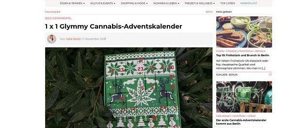 Q.iez Magazin Gewinnspiel Glymmy Cannabis-Adventskalender