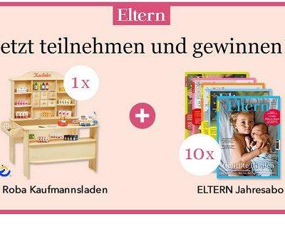 Roba Kaufladen Gewinnspiel Eltern.de