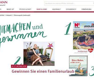 Rossmann Gewinnspiel 1.000 Euro Ferienhaus Gutschein