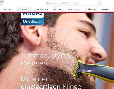 Rossmann Gewinnspiele 50 Philips OneBlade Akku Bartstyler