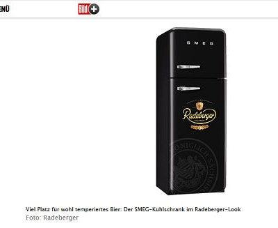 SMEG Kühlschrank Gewinnspiel Bild.de und Radeberger