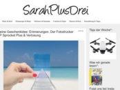 Sarah Plus Drei Gewinnspiel HP Sprocket Fotodrucker Verlosung