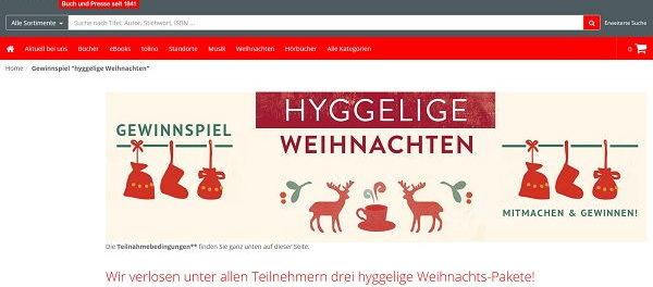 schmitt hahn weihnachts pakete gewinnspiel. Black Bedroom Furniture Sets. Home Design Ideas