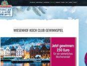 Wiesenhof Koch Club Gewinnspiel Wochenendreise